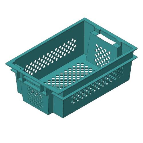 Ящик пластиковый перфорированный купить