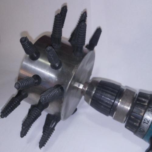 Перосъемная насадка на дрель от производителя МТМ
